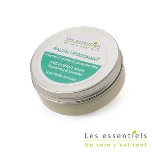Baume déodorant menthe – lavande