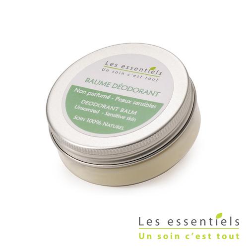 Baume déodorant peaux sensibles