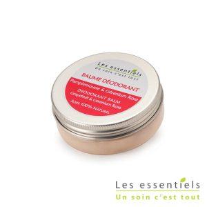 Baume déodorant pamplemousse – géranium rosa
