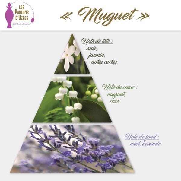Muguet - Pyramide olfactive