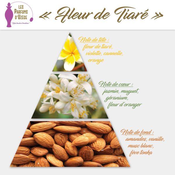 Fleur de Tiaré - Pyramide olfactive