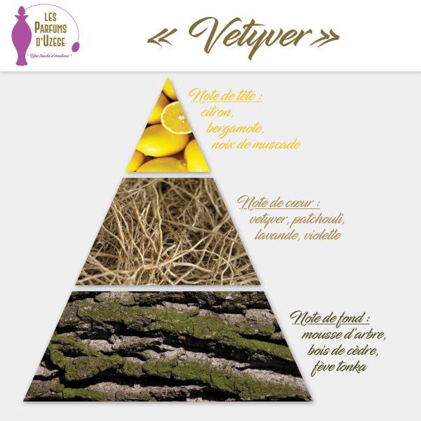 Vetyver - Pyramide olfactive
