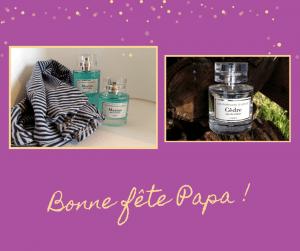Cadeau fête des pères : eau de toilette Marine et Cèdre