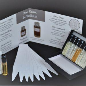 Coffret découverte parfum avec patchouli en Uzès
