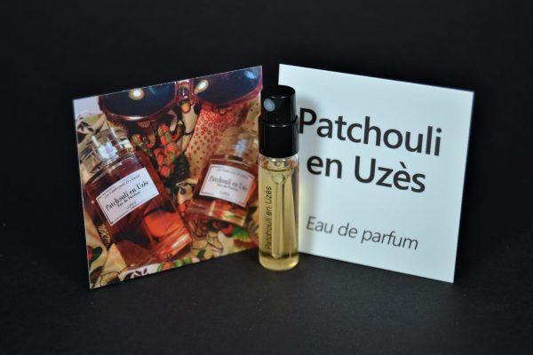 Echantillon Parfum Patchouli en Uzès
