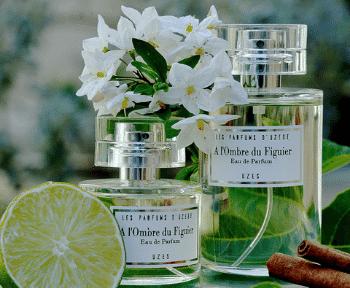 Parfums floraux, les Parfums D'Uzège
